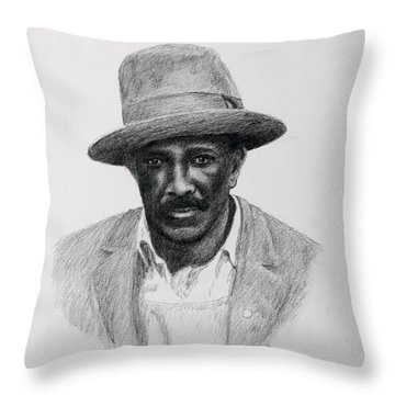 John Hearn Throw Pillow