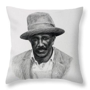 John Hearn Throw Pillow