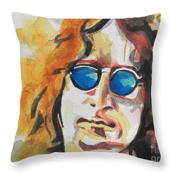John Lennon 03 Throw Pillow