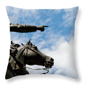 John Reynolds - Gettysburg General Throw Pillow