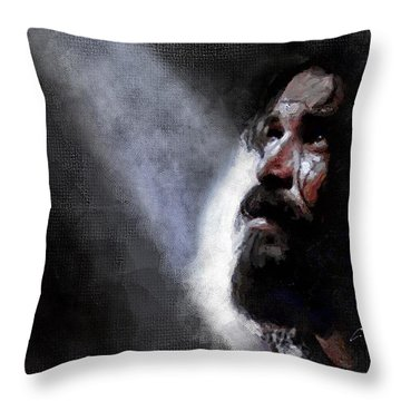 John The Baptist Throw Pillow