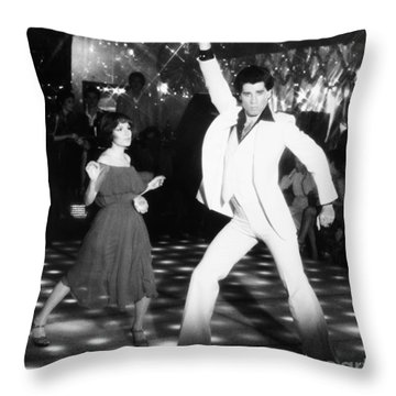 John Travolta (1954- ) Throw Pillow by Granger