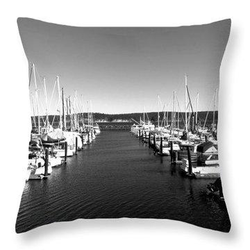 John Wayne Marina Throw Pillow
