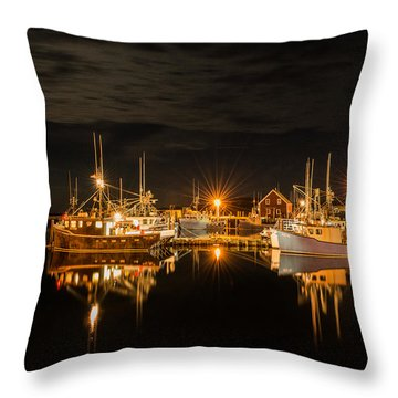 John's Cove Reflections Throw Pillow