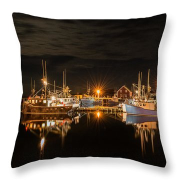 John's Cove Reflections - Revisited Throw Pillow