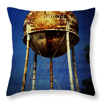 Joiner Water Tower Throw Pillow