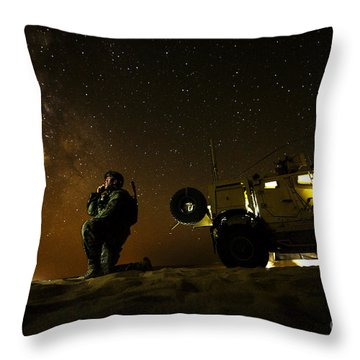 Joint Terminal Attack Controller Throw Pillow