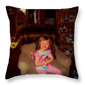 Jojo 3 Throw Pillow