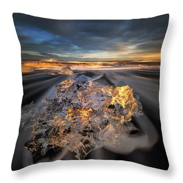 Iceland Throw Pillows