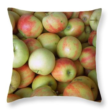 Jonagold Apples Throw Pillow