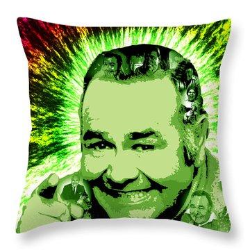 Jonathan Winters Throw Pillow