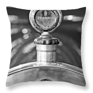 Jordan Motor Car Boyce Motometer 2 Throw Pillow by Jill Reger