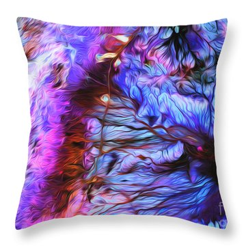 Jordan Throw Pillow by Art Gallery Earth