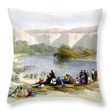 Jordan River Throw Pillow