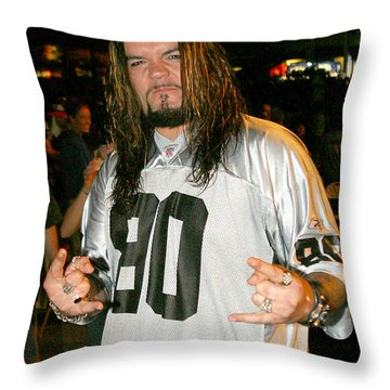 Josey Scott Throw Pillow by Don Olea