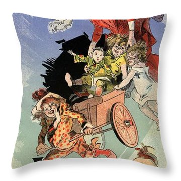 Jouets Objets Pour Etrennes Throw Pillow