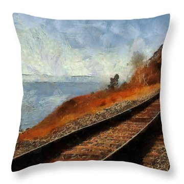 Journey Home Throw Pillow by Georgi Dimitrov