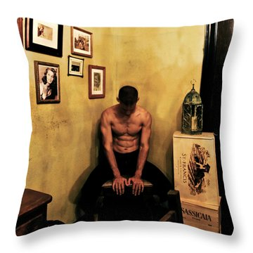 Journey Into The Past Throw Pillow by Kandy Hurley