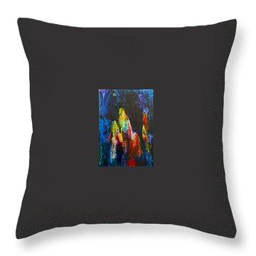 Journey Throw Pillow by Janice Nabors Raiteri