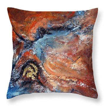 Journey Throw Pillow
