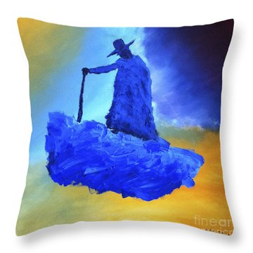 Journeyman Throw Pillow