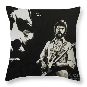 Journeyman Throw Pillow by ID Goodall