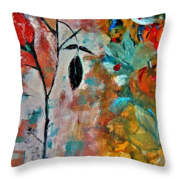 Joy Throw Pillow by Lisa Kaiser