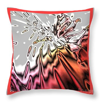 Joy Of Glory Throw Pillow
