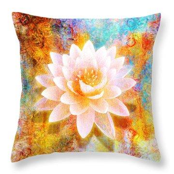 Joy Of Life Throw Pillow