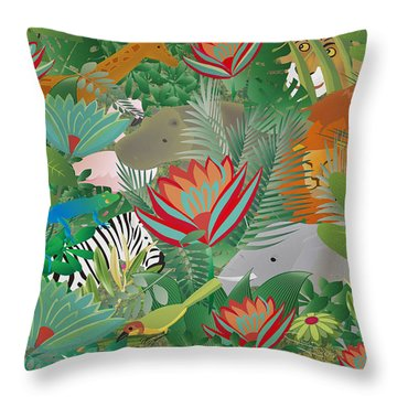 Joy Of Nature Limited Edition 2 Of 15 Throw Pillow