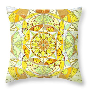 Joy Throw Pillow by Teal Eye  Print Store