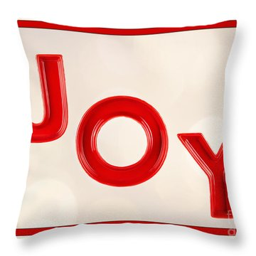 Throw Pillow featuring the photograph Joy To The World by Vizual Studio
