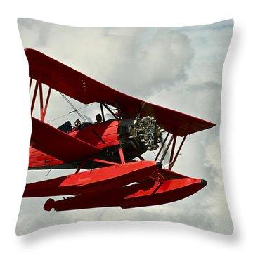 Joyflight Throw Pillow by Jocelyn Kahawai