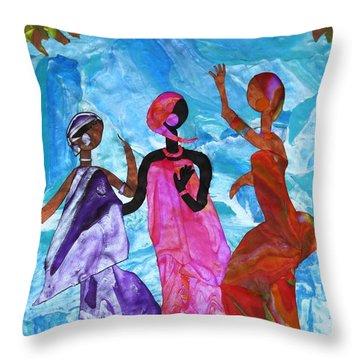 Joyful Celebration Throw Pillow