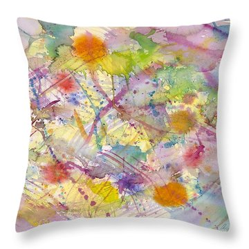 Joyful Harmony Throw Pillow