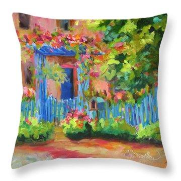 Joyful Invitation Throw Pillow