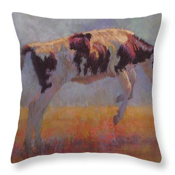 Jubilation Throw Pillow by Susan Williamson