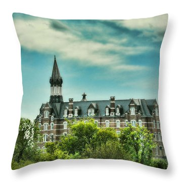 Jubilee Hall At Fisk University - Nashville Tennessee Throw Pillow