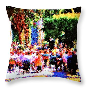 Throw Pillow featuring the photograph Jubilee by Nick David
