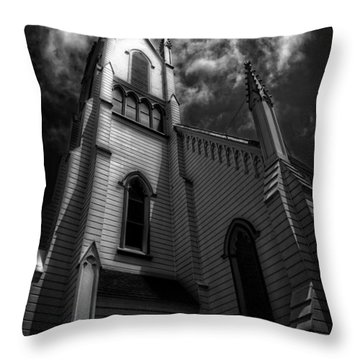 Judgment Throw Pillow
