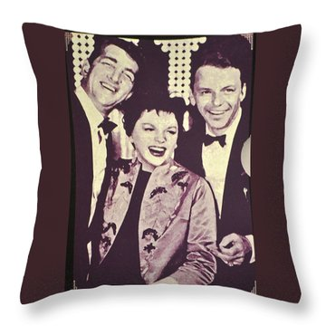 Judy Garland And Friends Throw Pillow