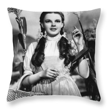 Judy Garland As Dorothy Throw Pillow