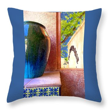 Jug And Window Throw Pillow by Ben and Raisa Gertsberg