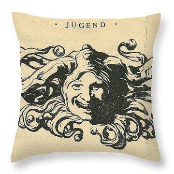 Jugend Jester Throw Pillow