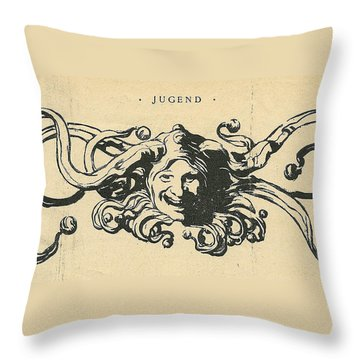 Jugend Jester Throw Pillow