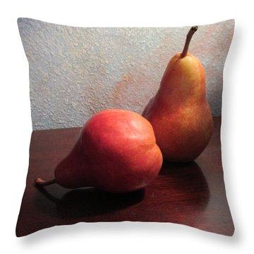 Juicy Still Life Throw Pillow