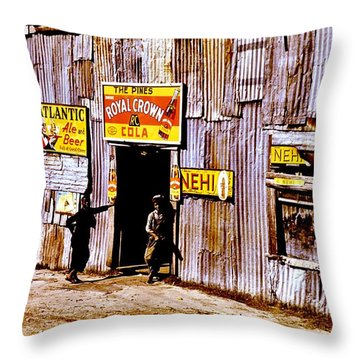 Juke Joint Throw Pillow by Benjamin Yeager