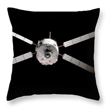 Jules Verne Throw Pillows