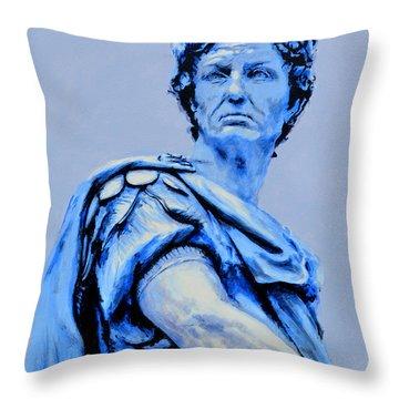 Julius Caesar Throw Pillow by Victor Minca
