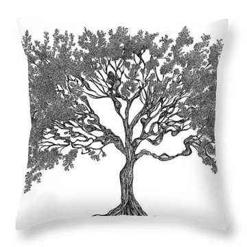 July '12 Throw Pillow